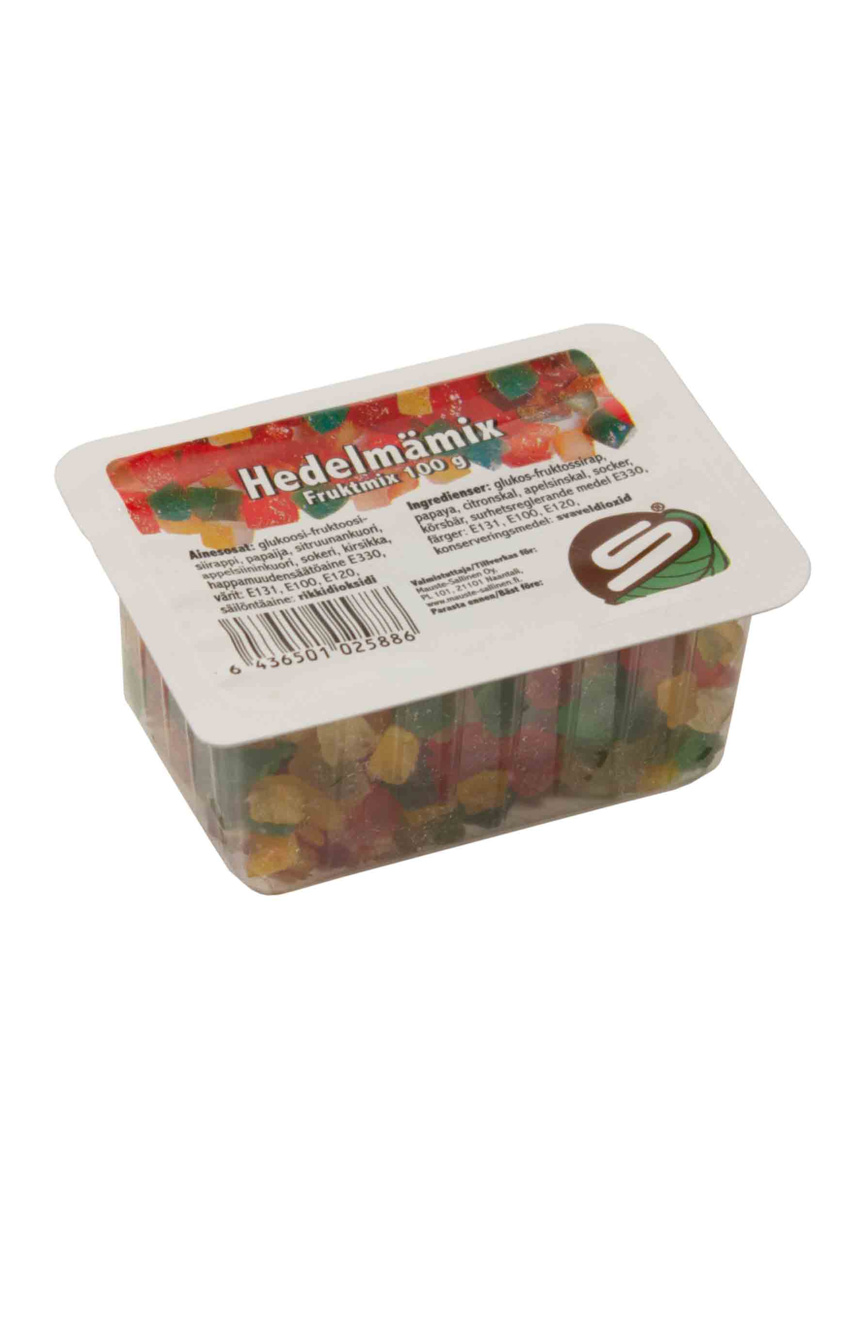 Candied fruit mix 100g