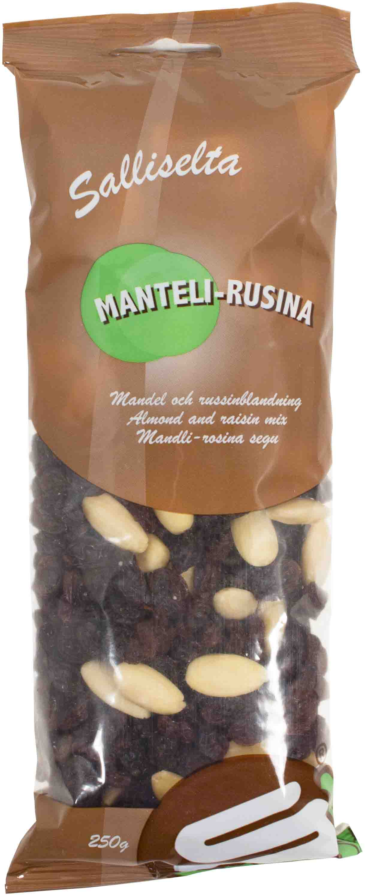 Almond and raisin mix 250g