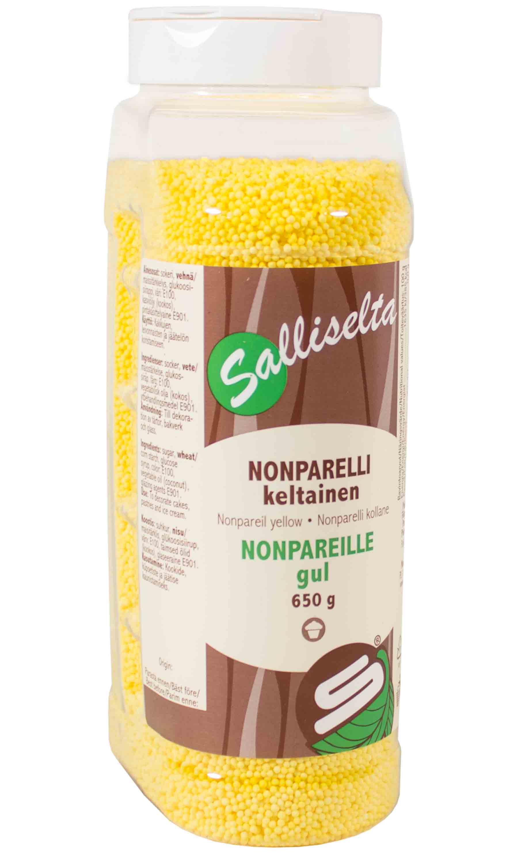 Nonpareils yellow 650 g