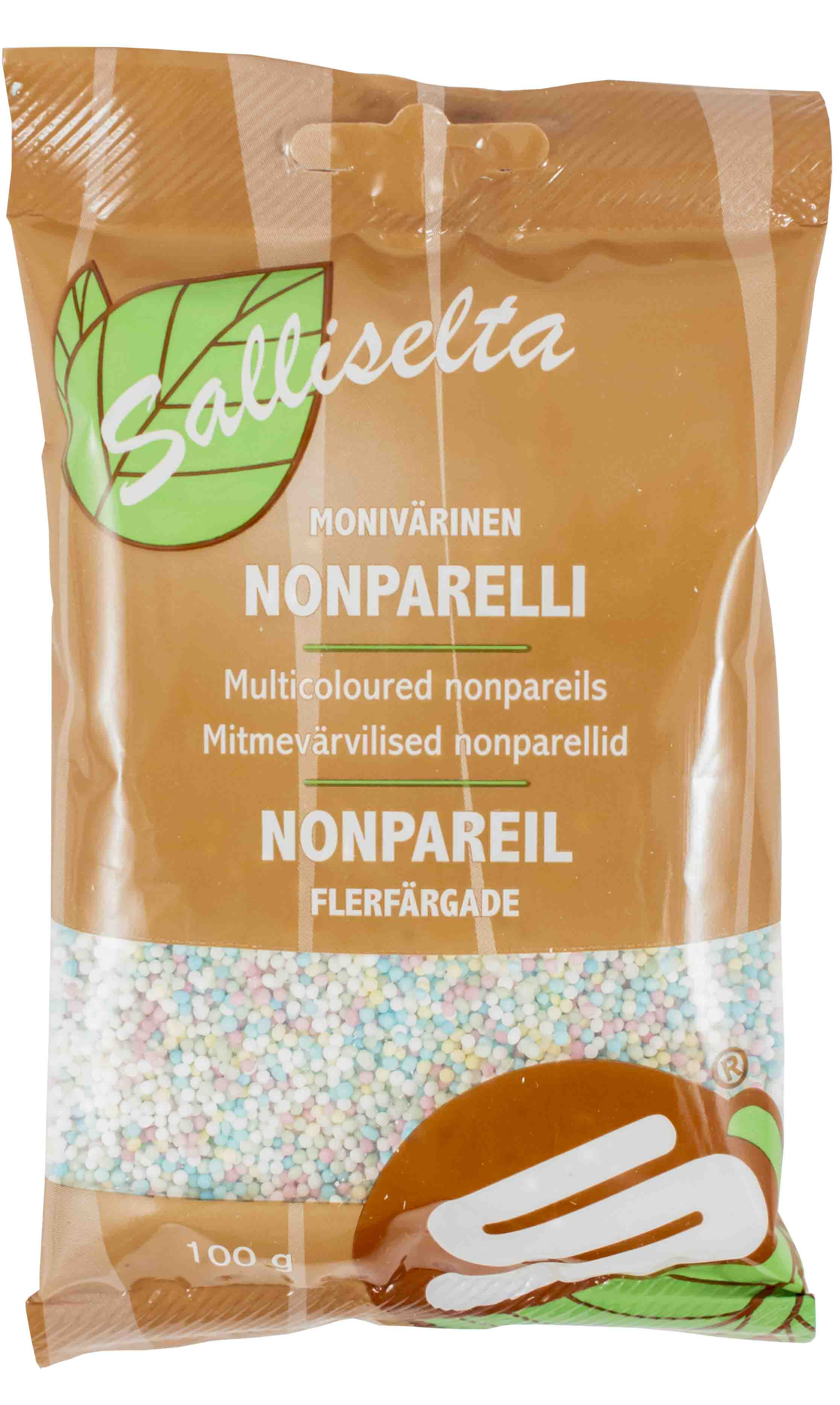 Nonpareils multicoloured 100g