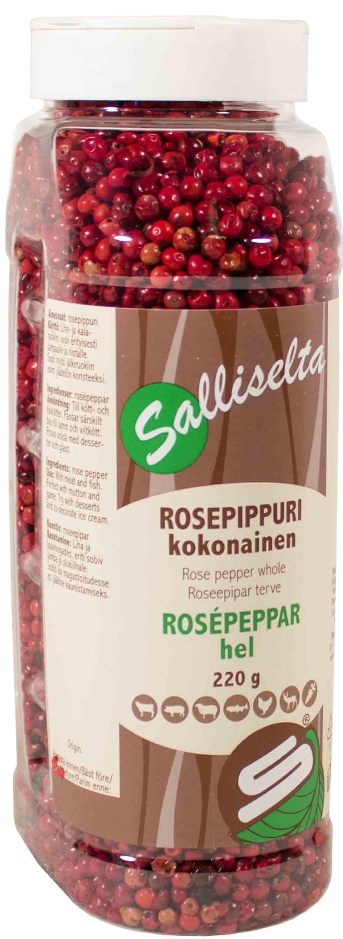 Rose pepper whole 220g