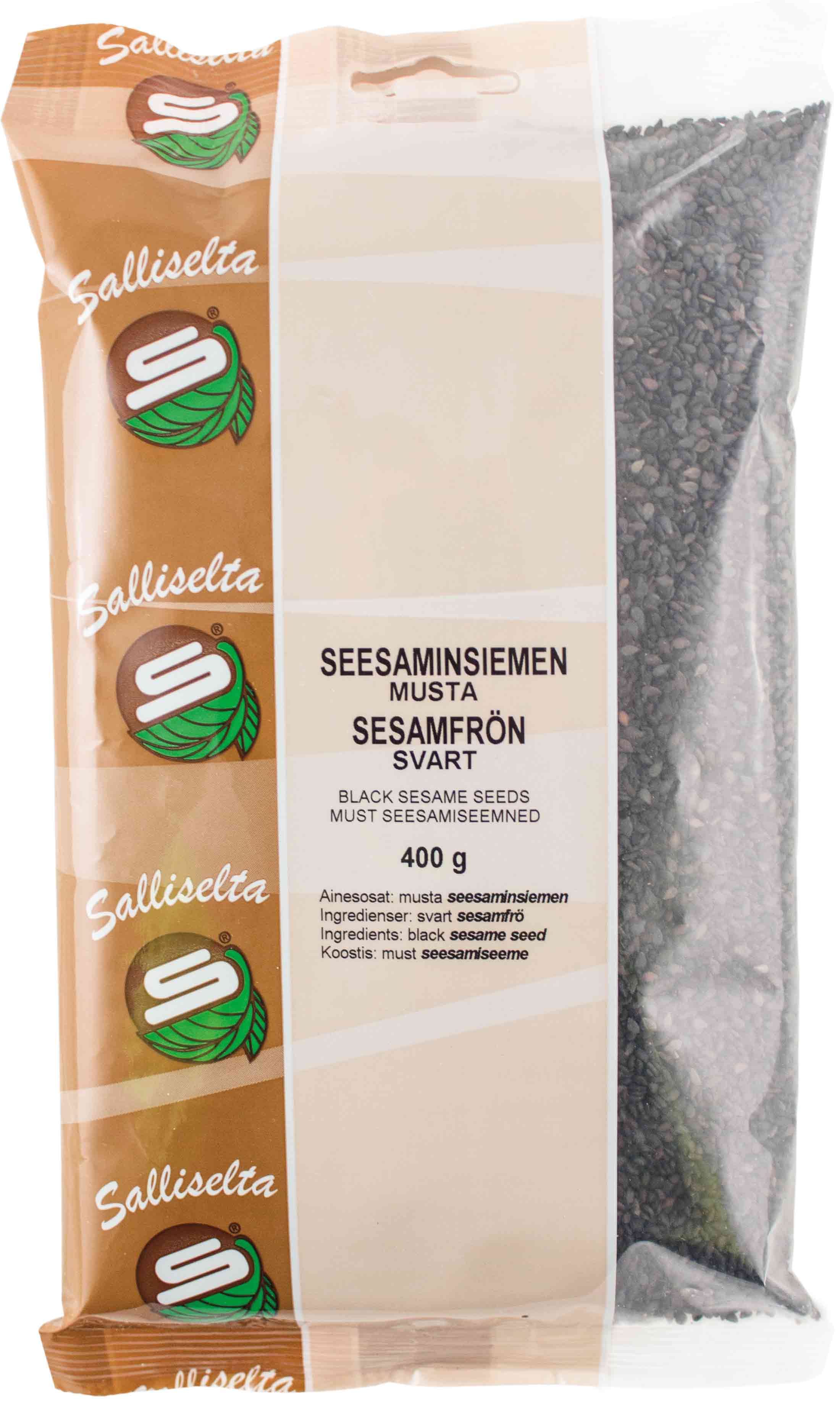 Sesame seeds black 400g
